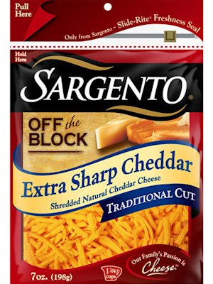 Sargento Extra-Sharp Chef Style Cheese