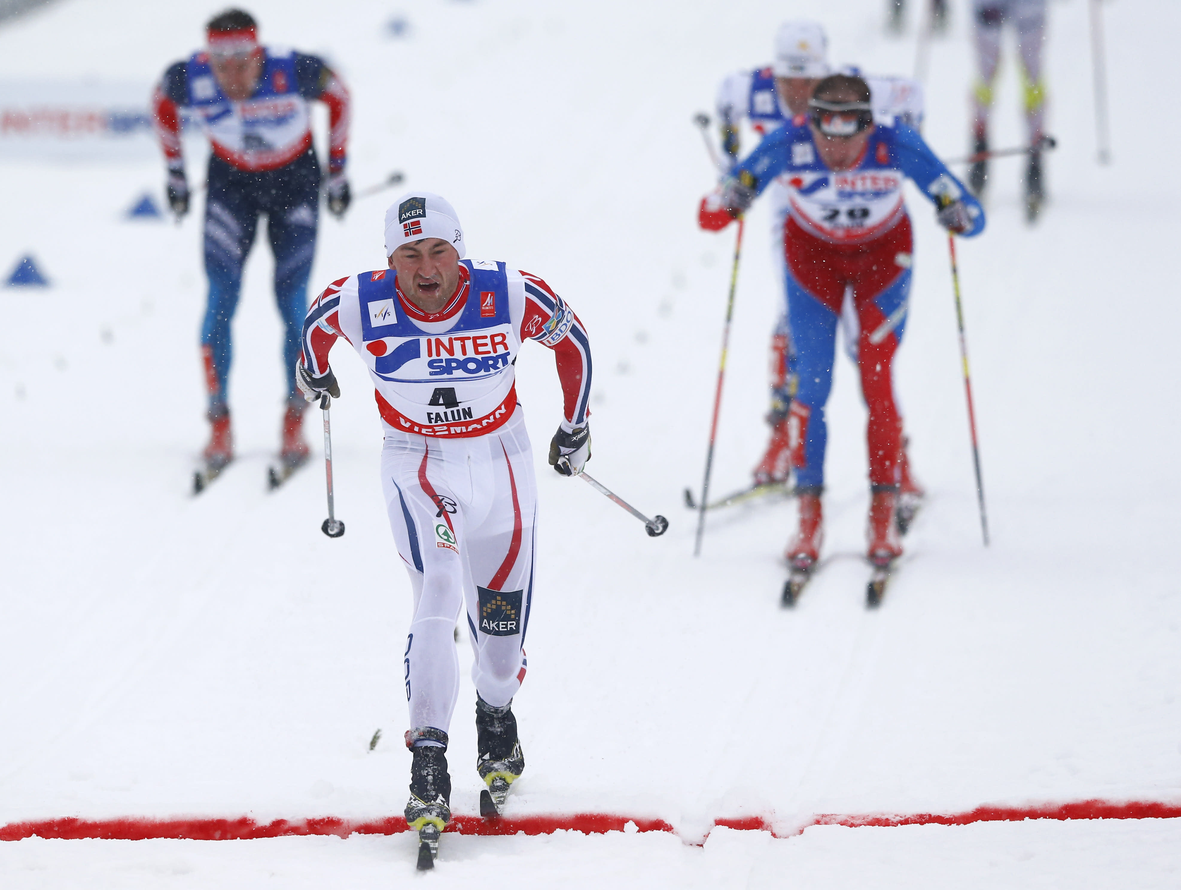 Northug wins 50K race for 4th gold of Nordic skiing worlds