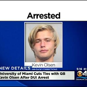 Kevin Olsen No Longer A UM Student