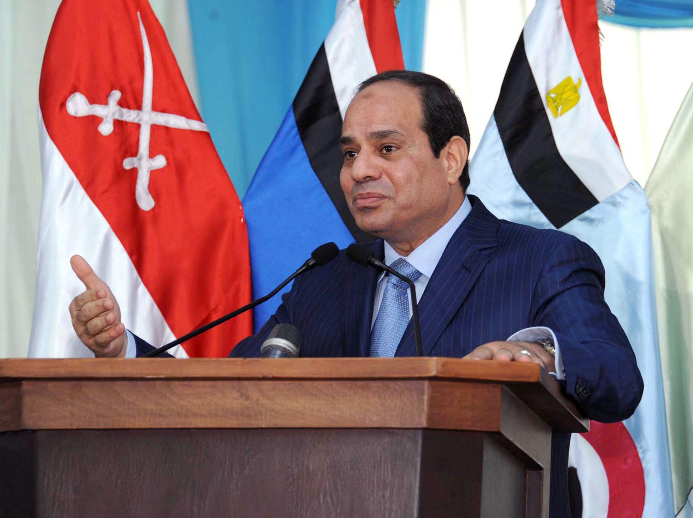 Egypt's Sisi meets Qatari envoy as ties thaw
