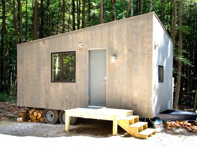 Tiny Living: You Could Rent This 100% Off-Grid 160-Sq. Ft. Mobile Home