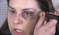 Using Make-Up To Fight Domestic Violence