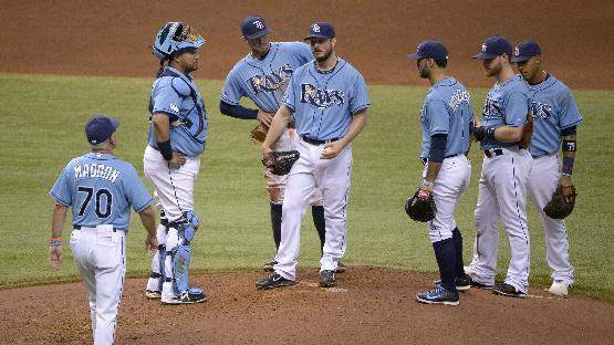 It's back to basics for struggling Tampa Bay Rays