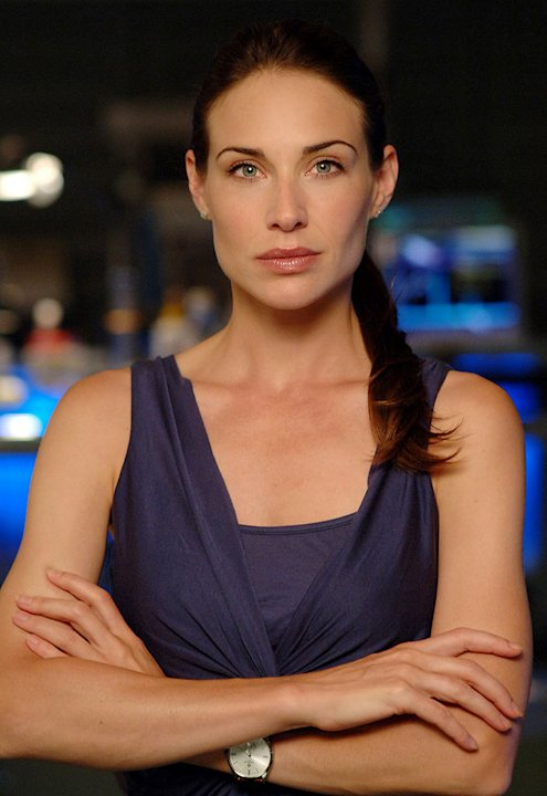Claire Forlani stars as Dr. Peyton Driscoll in CSI: NY on CBS. 