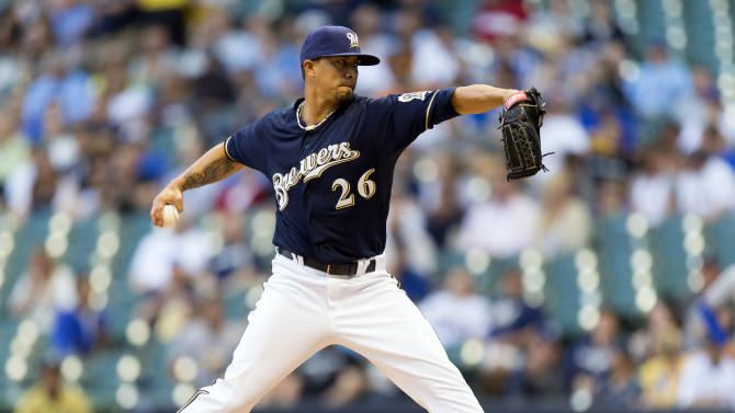 MLB: Texas Rangers at Milwaukee Brewers