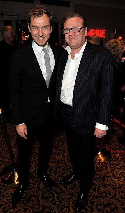 2010 Empire Film Awards Jude Law Ray Winstone