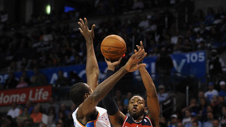 NBA: Washington Wizards at Oklahoma City Thunder