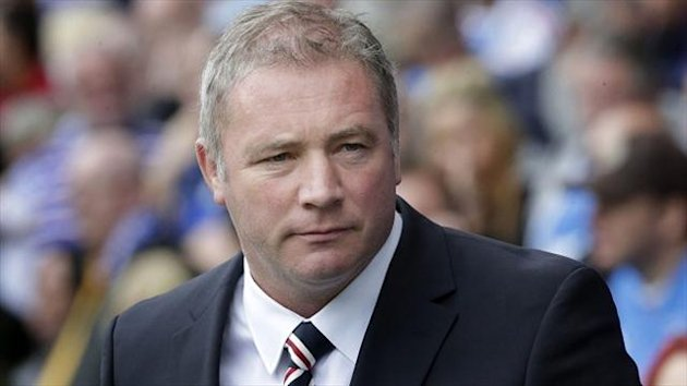 Ally McCoist is happy with his decision