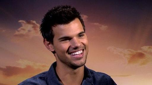 The Twilight Saga: Breaking Dawn Part 2: Interview With Taylor Lautner