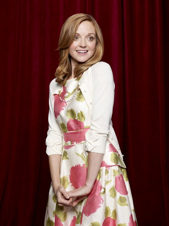 "Jayma Mays returns as Emma Pilsbury in ""Glee."""