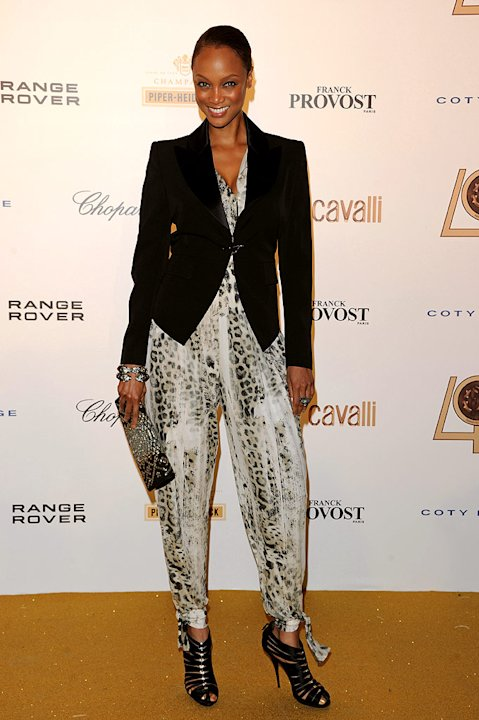 Tyra Banks Cavalli Eventjpg