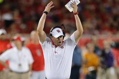 Tom Herman is a rising star of a head coach, but right now he's worried about Houston's carpet