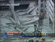 Part of a parking garage at Miami-Dade College's West Campus collapsed Wednesday morning leaving at least two injured and others trapped. The area was under construction at the time of the collapse.