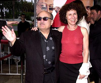 Danny DeVito and Rhea Perlman at the LA premiere of MGM's What's The Worst That Could Happen