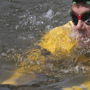 Man Takes Earth Day Swim in Polluted NYC Canal