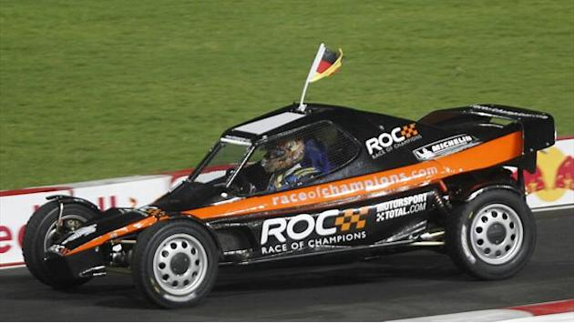 Motorsports - Germany's Vettel and Schumacher win Race of Champions Nations' Cup