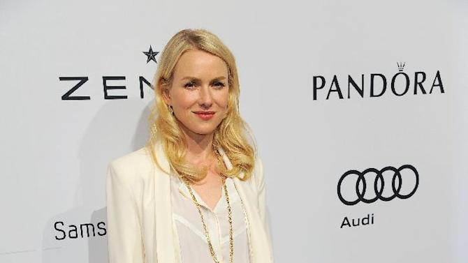 Naomi Watts arrives at The Hollywood Reporter Nominees' Night at Spago on Monday, Feb. 4, 2013, in Beverly Hills, Calif. (Photo by Chris Pizzello/Invision for The Hollywood Reporter/AP Images)
