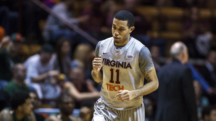 NCAA Basketball: Miami at Virginia Tech