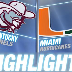 Eastern Kentucky vs Miami | 2014-15 ACC Men's Basketball Highlights