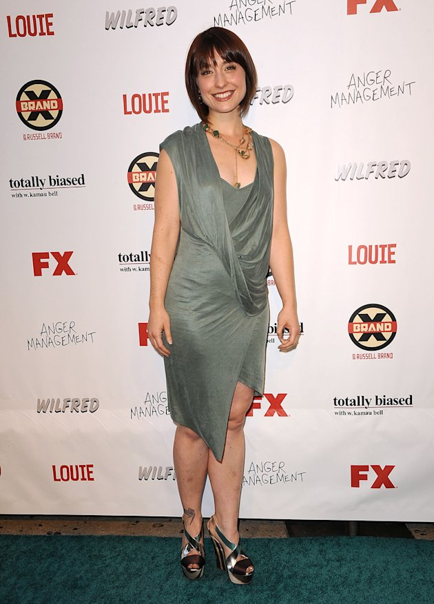 Allison Mack at the FX Summer Party