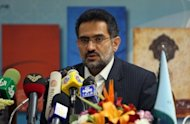 Culture Minister Mohammad Hosseini has said Iran is pulling its sole movie entered in the Academy Awards, &quot;A Cube of Sugar&quot; in protest at a US-made anti-Islam film