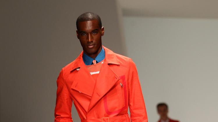 Salvatore Ferragamo: Runway - Milan Fashion Week Menswear Spring/Summer 2013