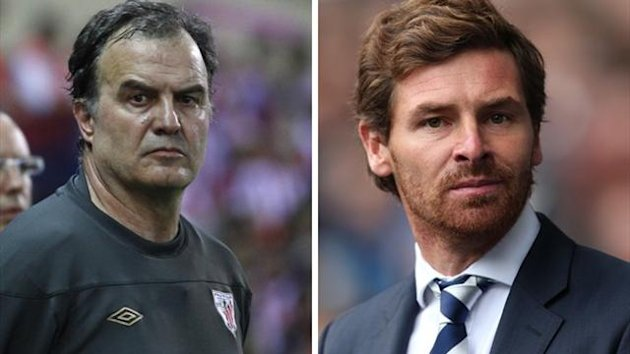 Marcelo Bielsa (Reuters) and Andres Villas-Boas (PA Sport)