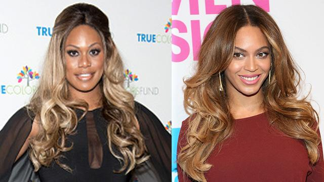 Laverne Cox Receives the Best Christmas Card Ever from Beyonce