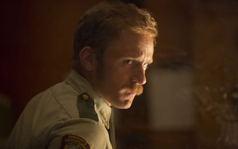 "This film image released by IFC Films shows Ben Foster in a scene from ""Ain't Them Bodies Saints."" (AP Photo/IFC Films)"