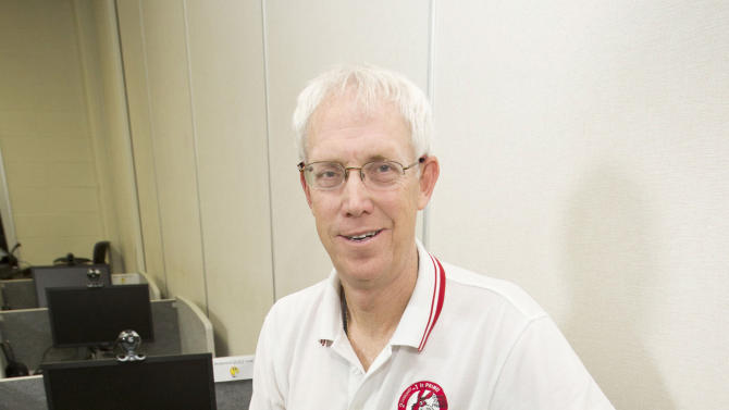 This photo provided by the University of Central Missouri shows computer science and mathematics professor Curtis Cooper. The university said Tuesday that a group, led by Cooper, found the 48th known Mersenne prime last month. It's the third such number discovered at the University of Central Missouri, an 11,800-student campus in Warrensburg, about 50 miles east of Kansas City. (AP Photo/University of Central Missouri)