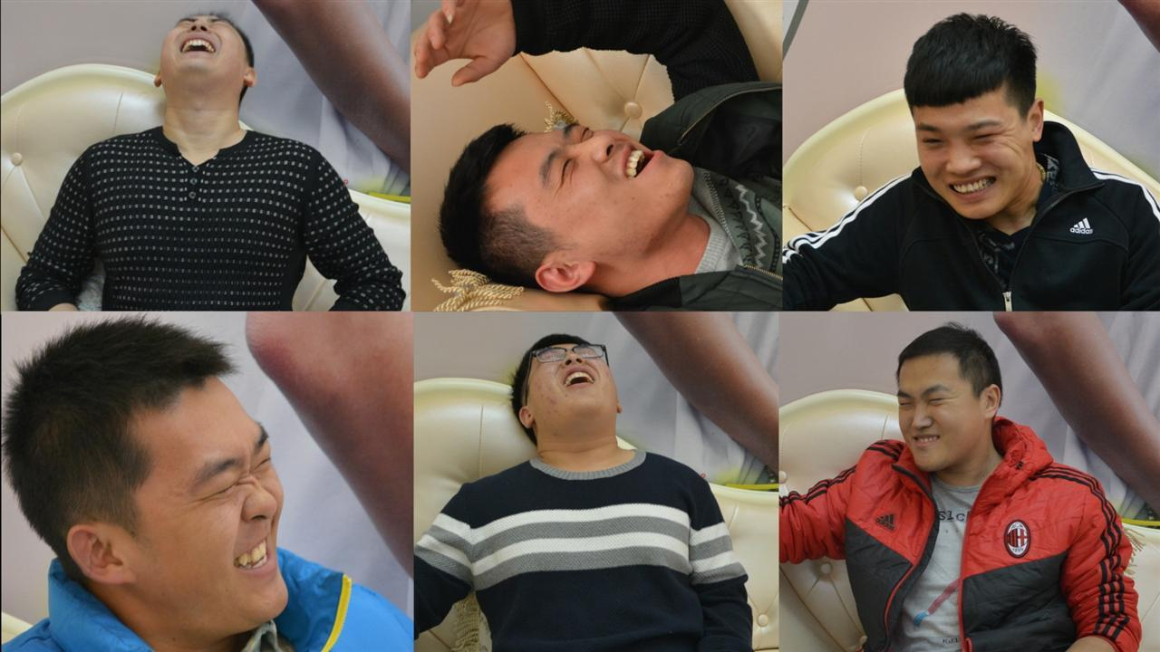 In China, expectant dads line up to experience labor pains