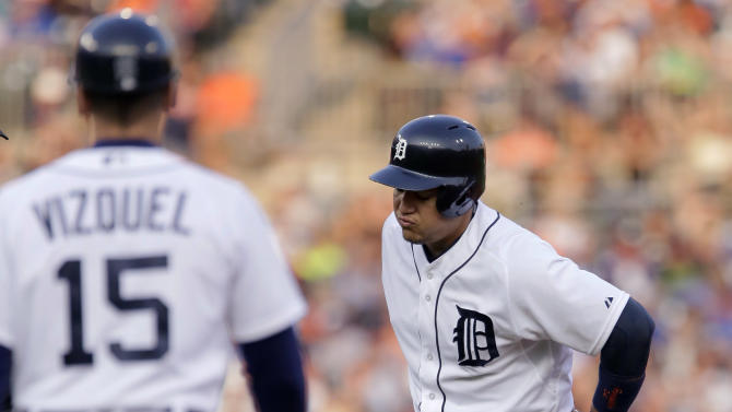 Tigers' Miguel Cabrera on DL, out 6 weeks with calf injury