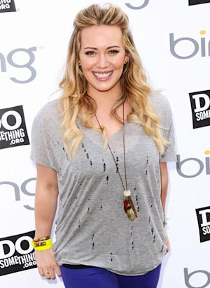 "Hilary Duff: Son Luca, 5 Months, Is ""Rolling Over Like a Maniac"""