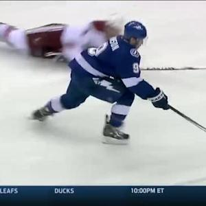 Tyler Johnson rockets past Coyotes D for SHG