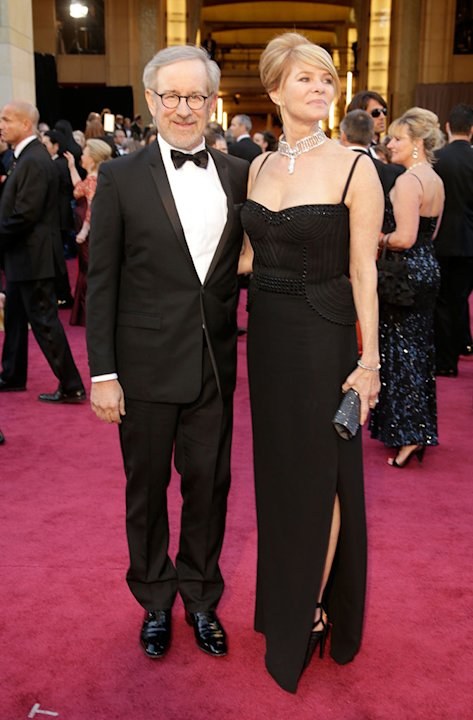 85th Annual Academy Awards - Arrivals: Steven Spielberg and Kate Capshaw