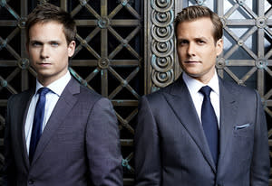 Patrick J. Adams, Gabriel Macht | Photo Credits: Robert Ascroft/USA Network