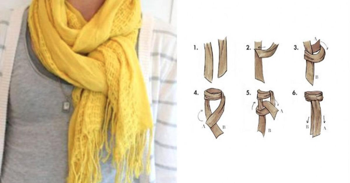 14 Fashionably Cozy Ways To Wear A Scarf