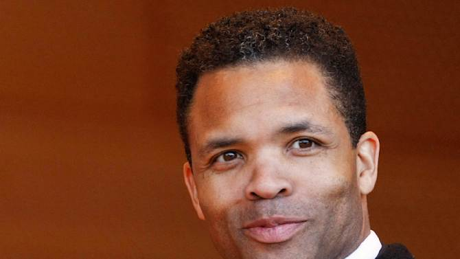 FILE - A May 16, 2011 file photo shows U.S. Rep. Jesse Jackson Jr. in Chicago. Jackson's wife said Wednesday, Oct. 3, 2012, her husband is seeing his doctor two to three times a week and his physician will decide when the congressman returns to work. (AP Photo/Charles Rex Arbogast, File)