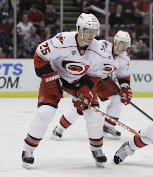 Hurricanes' Pitkanen out for 2013-14 season