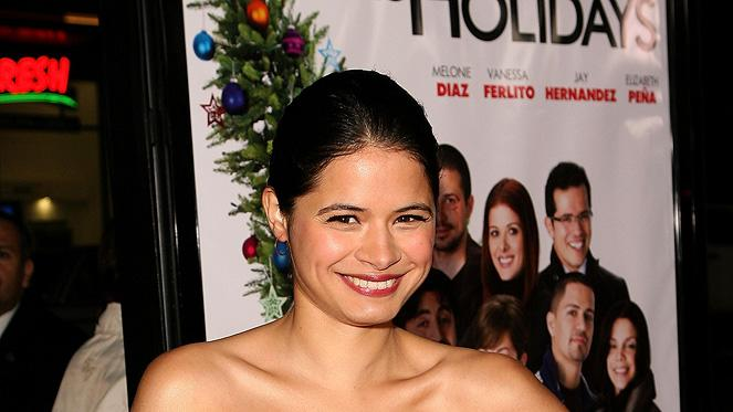 Nothing Like the Holidays LA Premiere 2008 Melonie Diaz