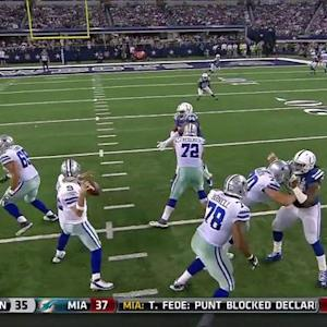 Dallas Cowboys tight end Jason Witten catches 25-yard touchdown pass