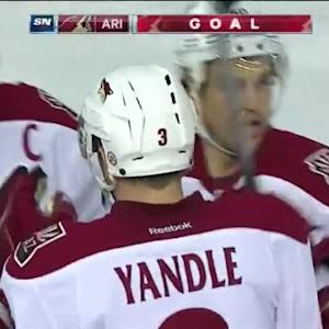Keith Yandle Goal on Viktor Fasth (07:54/2nd)