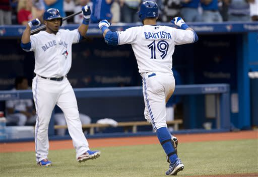 Bautista hits 20th homer; Blue Jays beat Twins 4-0