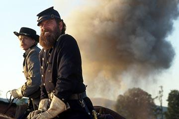 Sean Pratt and Stephen Lang in Gods and Generals