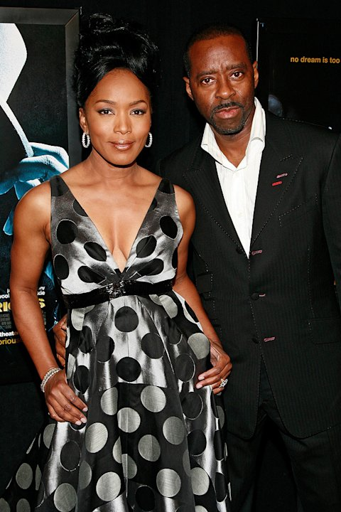 Notorious NY Premiere 2009 Angela Bassett Courtney B. Vance