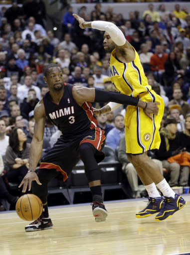 Pacers rally in 2nd half to beat Heat, 90-84