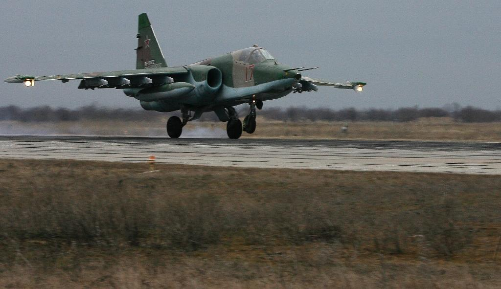 Russian air force 'hits 60 terror targets' in new Syria strikes