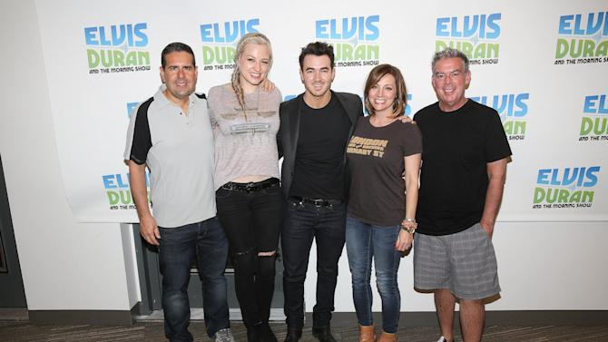 "Kevin Jonas Visits ""The Elvis Duran Z100 Morning Show"""