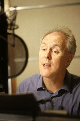 John Lithgow records the voice of the evil Lord Farquaad who has banished all the fairy-tale creatures from his kingdom in DreamWorks Pictures' computer animated comedy Shrek