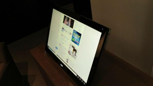 Acer's Touch-Friendly Windows 8 PCs Also Come as Monitors [HANDS ON]
